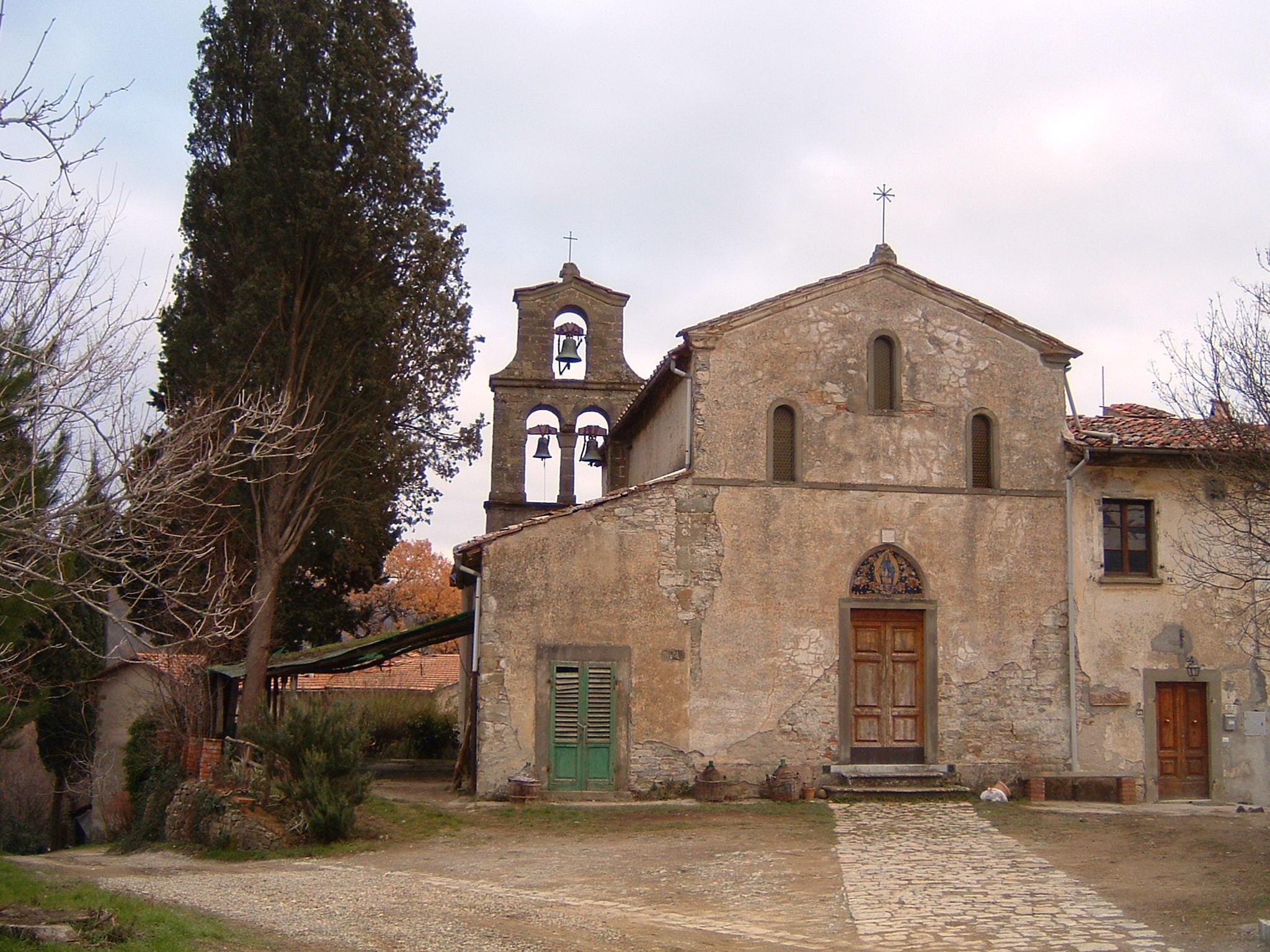 Facciata della Chiesa di Santa Maria in Acone