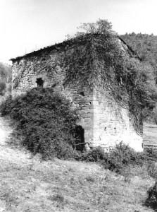 L'edificio del Mulino,  dai caratteri costruttivi attribuibili al XIII-XIV sec.