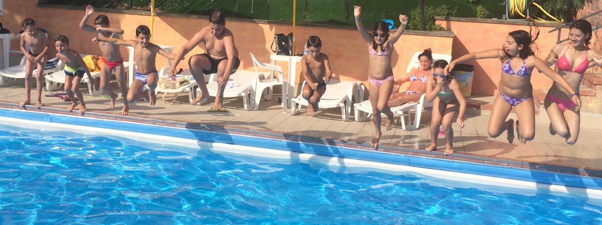 Da sabato 20 giugno riapre la piscina!!!