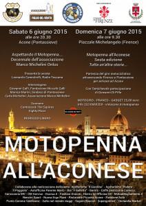 Motopenna all'Aconese - sesta edizione