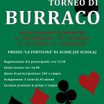 Primo torneo di Burraco